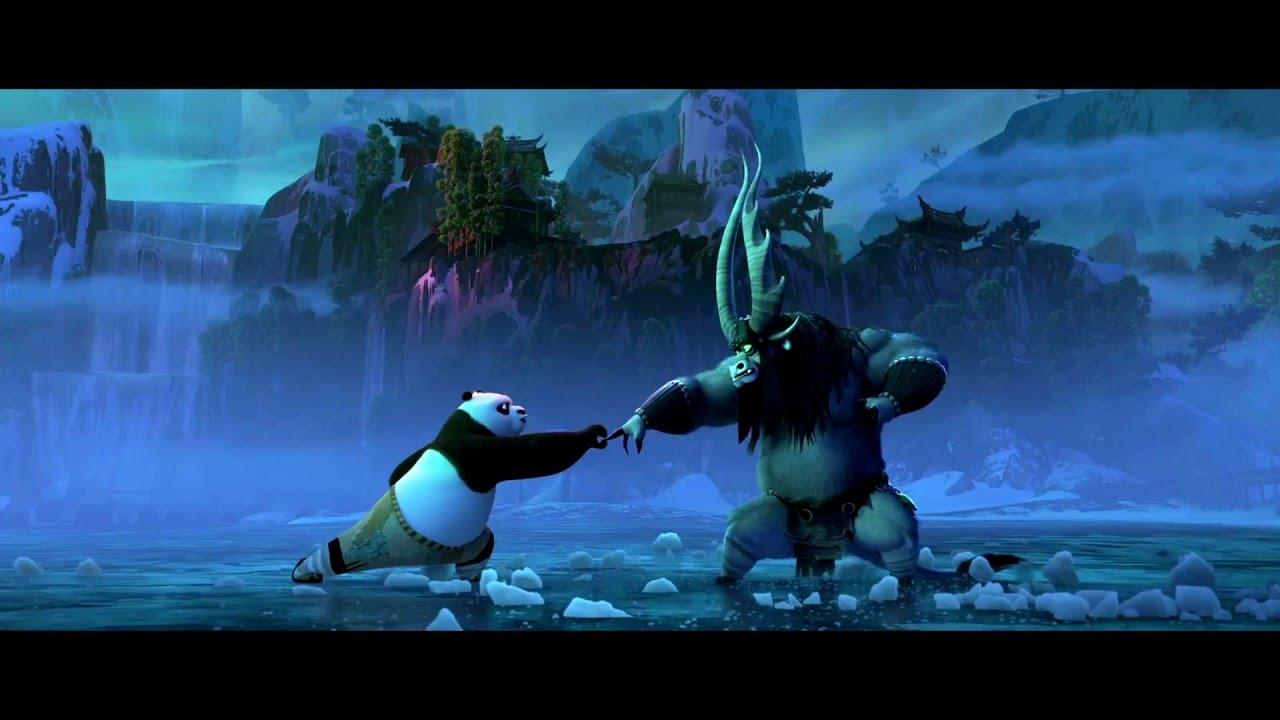 Pha solo kinh điển giữa Po và Kai trong Kungfu Panda 3