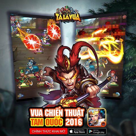 Đánh giá nhanh Ta Là Vua, game mobile đề tài Tam Quốc, ra mắt trong sáng nay