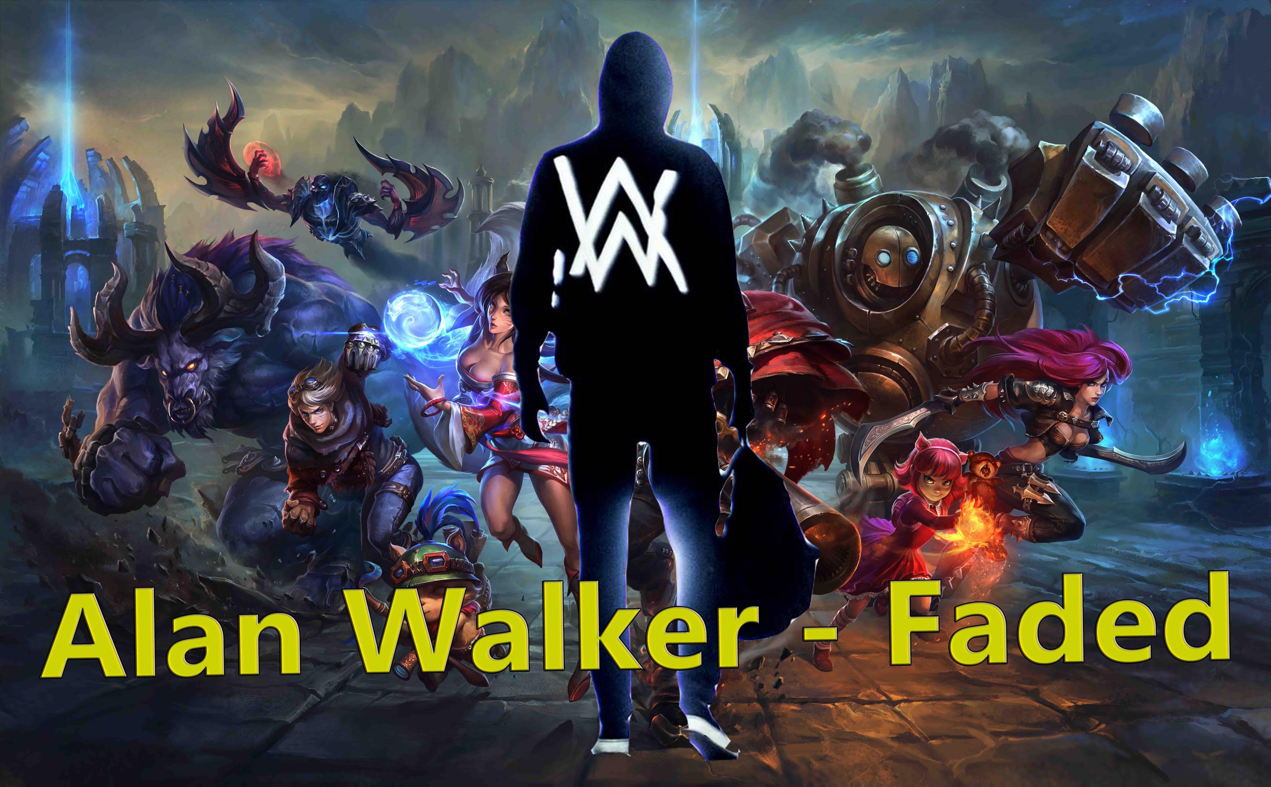 Chết cười trước phiên bản Faded của Alan Walker theo phong cách Liên Minh  Huyền Thoại