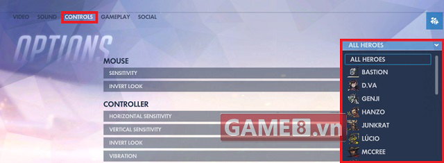 overwatch pro settings