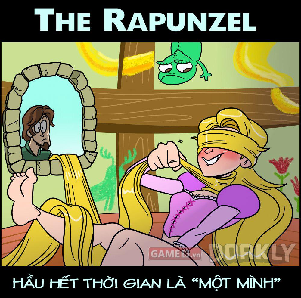Công chúa tóc vàng Rapunzel