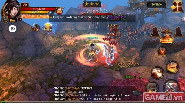 Trải nghiệm game Tam Quốc 3Q ngày đầu ra mắt game thủ Việt