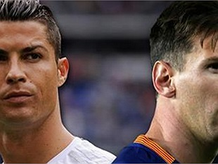 Giật mình vì bất ngờ xuất hiện Ronaldo, Messi trong game manga