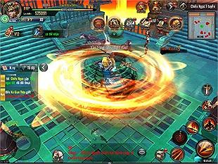 """Trải nghiệm siêu phẩm RPG3D """"Tứ Đại Danh Bổ"""" trước ngày ra mắt tại trụ sở Gamota"""