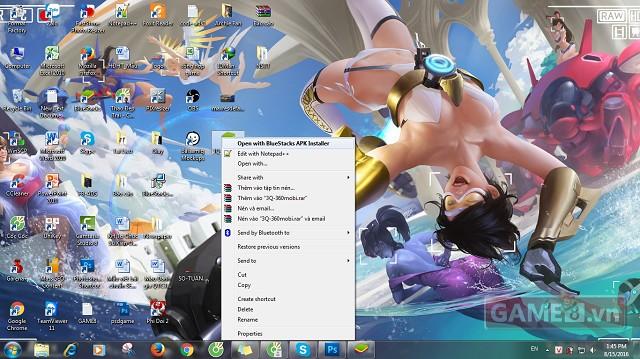 Hướng dẫn cách chơi 3Q 360mobi trên máy tính PC