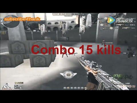 Đột Kích: Khả năng xử lý AK-47 tuyệt vời của xạ thủ CFQQ 70kg