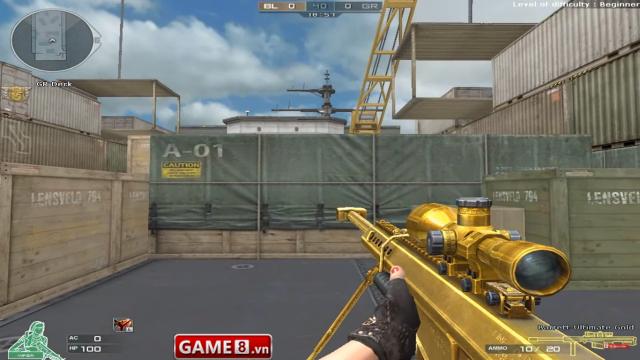 Barrett Ultimate Gold