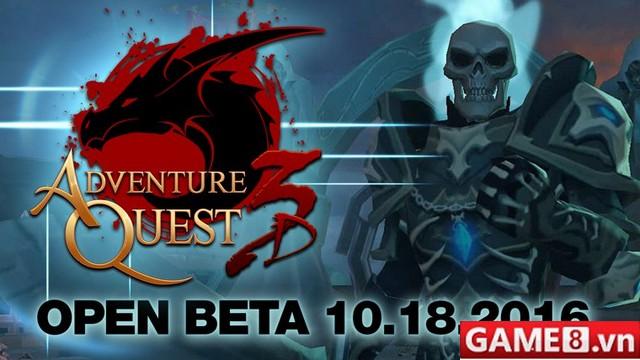 AdventureQuest 3D - MMORPG siêu độc đáo hỗ trợ cả trên PC