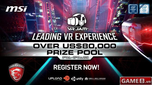 MSI giới thiệu VR JAM có tổng giá trị giải thưởng đến 80,000 USD - ảnh 1