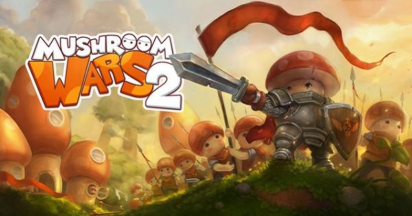 Mushroom Wars 2: Game chiến thuật thả quân pha lẫn chất hành động cực hay