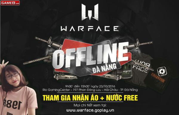 Cộng đồng Warface Đà Nẵng chuẩn bị có buổi Offline tưng bừng vào ngày 23/10/2016 - ảnh 1
