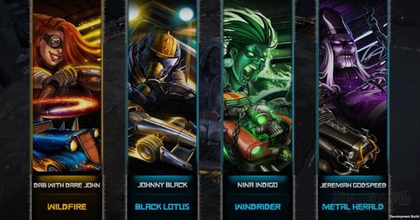 Heavy Metal Machines - Game đua xe hành động với lối chơi siêu độc đáo