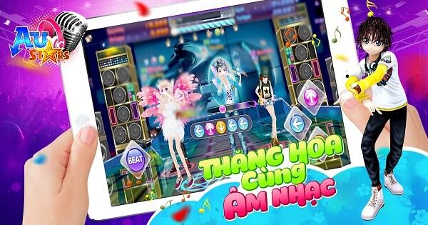 Au Stars: Game mobile có mode nhảy đa dạng nhất Việt Nam