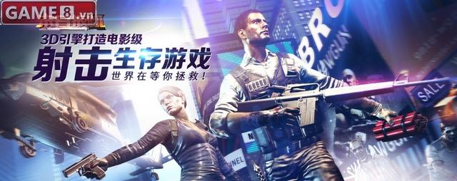 Mạt Nhật Ban Cơ: Game mobile FPS săn zombie cực đã
