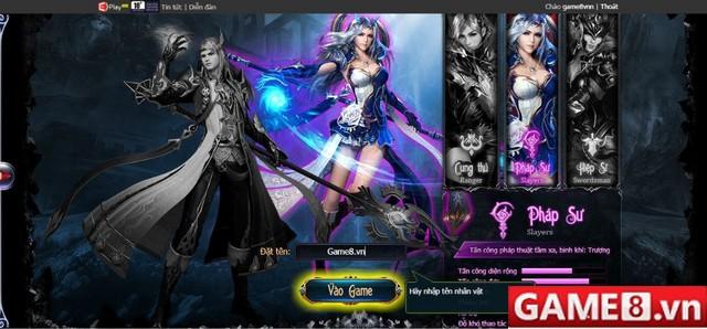 Cùng soi Webgame Truyền Thuyết Phong Bạo trong ngày đầu Closed Beta tại Việt Nam
