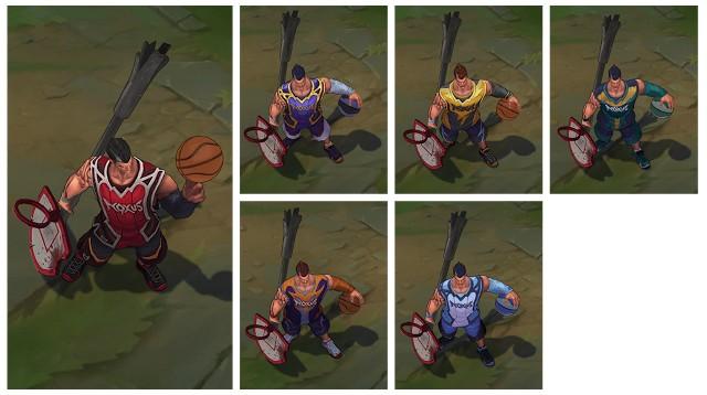 LMHT: Thêm sắc màu cho đấu trường công lý với gói đa sắc Darius Siêu Sao Bóng Rổ và Cô Giáo Fiora