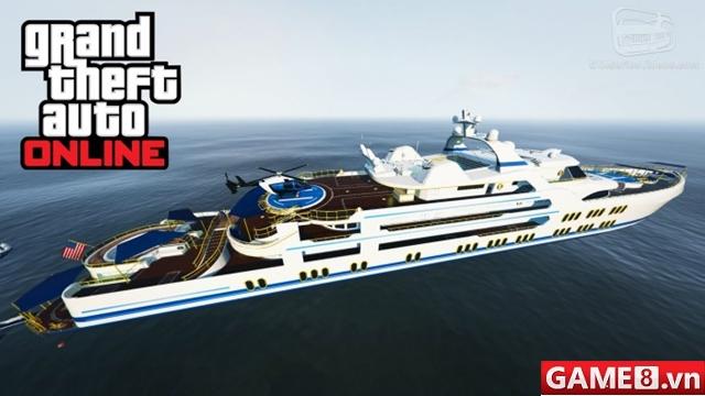 Chết cười với thử nghiệm lấy 100 người để nhấn chìm chiếc du thuyền trong game GTA V