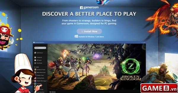 Ra mắt Gameroom, Facebook chính thức tuyên chiến với Steam