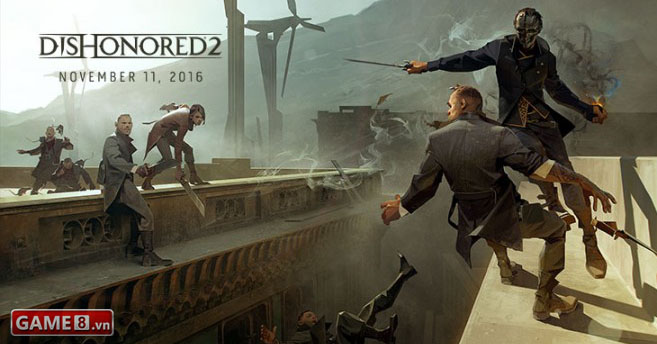 Dishonored 2 - Siêu phẩm hành động tung trailer mới hé lộ cốt truyện đầy hấp dẫn - ảnh 2