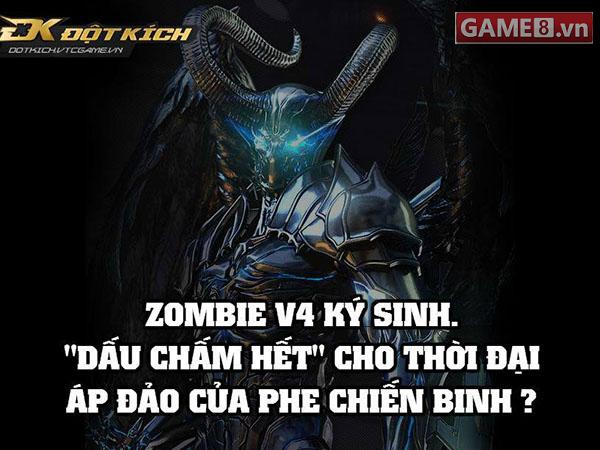 """Dấu chấm hết cho phe chiến binh thích """"thủ"""" trong Zombie V4 ..."""