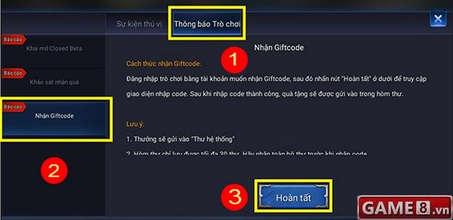 Giftcode Liên Quân Mobile nhân sự kiện game chính thức ra mắt - ảnh 3