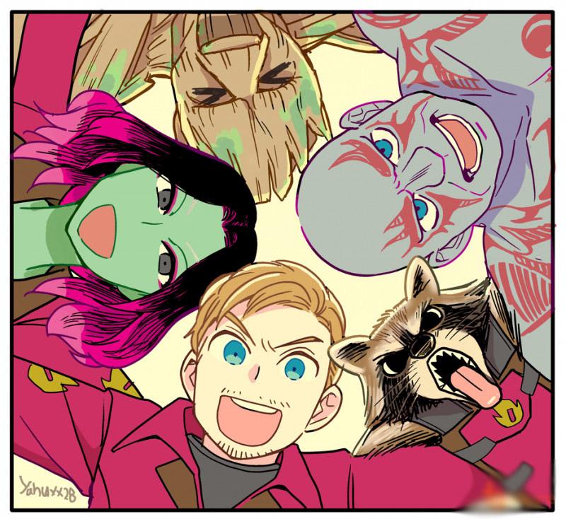 Sẽ ra sao khi các siêu anh hùng Marvel được anime hóa? - ảnh 14