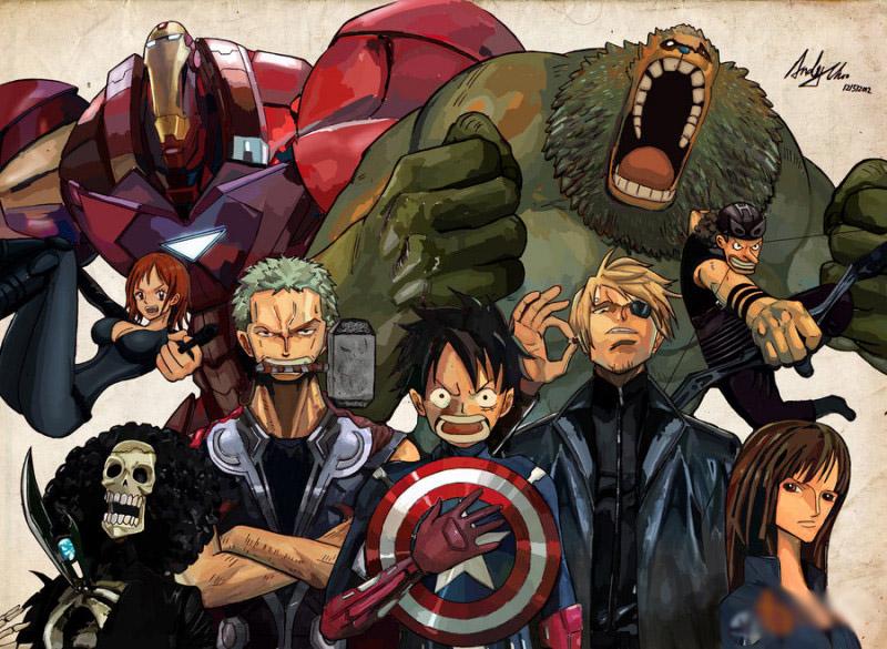 Sẽ ra sao khi các siêu anh hùng Marvel được anime hóa? - ảnh 8