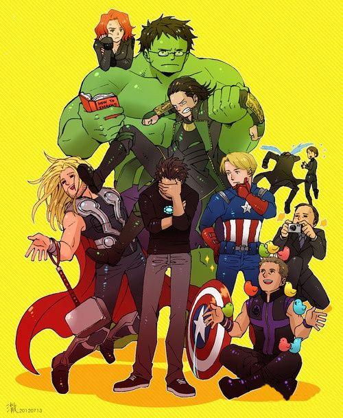 Sẽ ra sao khi các siêu anh hùng Marvel được anime hóa? - ảnh 4