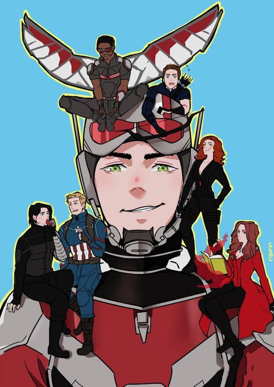 Sẽ ra sao khi các siêu anh hùng Marvel được anime hóa? - ảnh 2