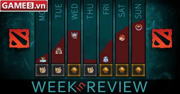 Dota2 - top 5 pick rate và win rate trong tuần vừa qua