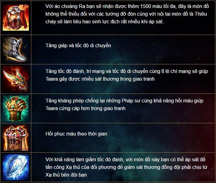 Liên Quân Mobile: Hướng dẫn chơi tướng Taara - Búa cuồng bạo - ảnh 5