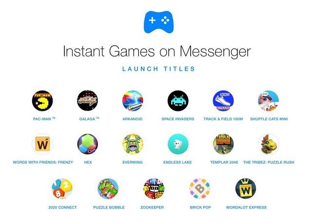 Không chỉ để trò chuyện Facebook Messenger còn dùng để chơi game nữa! - ảnh 2