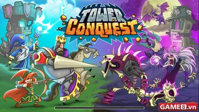 Game hay cho dế: Tower Conquest - Game thủ thành góc nhìn ngang cực ấn