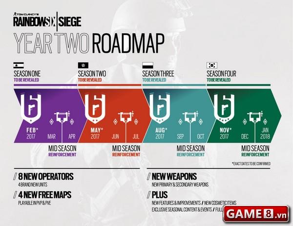 Rainbow 6 Siege đã có thông tin và Season Pass của năm 2 - ảnh 2