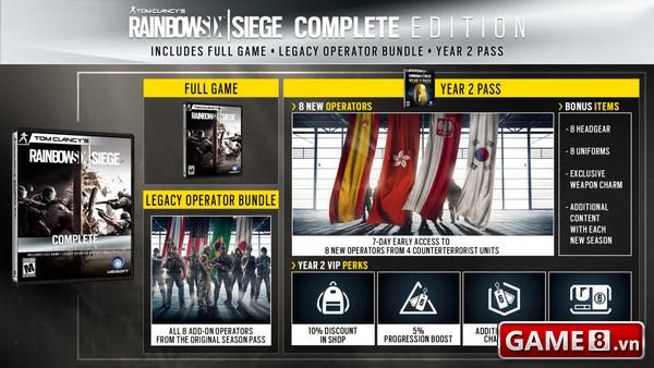 Rainbow 6 Siege đã có thông tin và Season Pass của năm 2 - ảnh 4