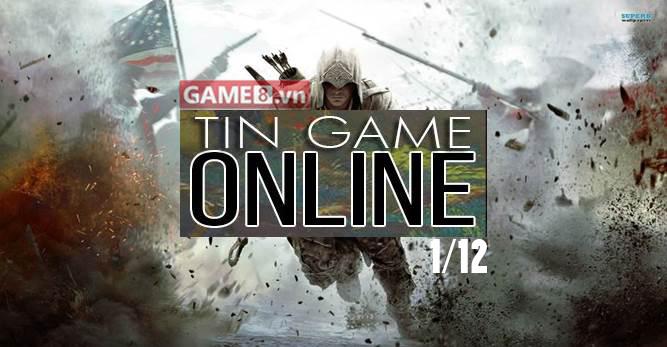 Điểm tin Game Online ngày 1/12: Assassin's Creed III sẽ được Ubisoft cho chơi miễn phí