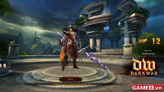 Dark War - Game nhập vai miễn phí đưa người chơi vào thế giới chặt chém bất tận
