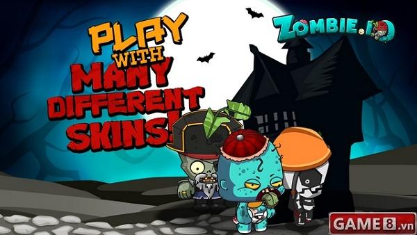 Zombie.io cuộc đua tranh ngôi vương IO Game với Slither.io