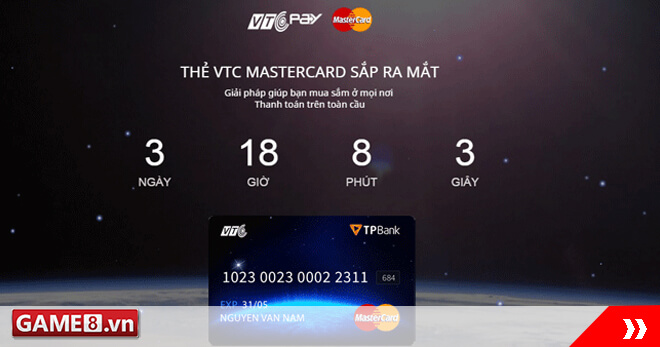 """Đếm ngược ngày ra mắt sản phẩm """"bom tấn"""" 2016 – VTC MasterCard"""