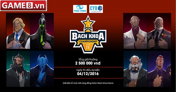 Dota2 - Giải đấu Bách Khoa Championship kết thúc thành công