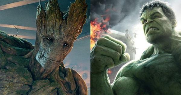 Hulk sẽ đối đầu với Groot trong Avengers: Infinity War