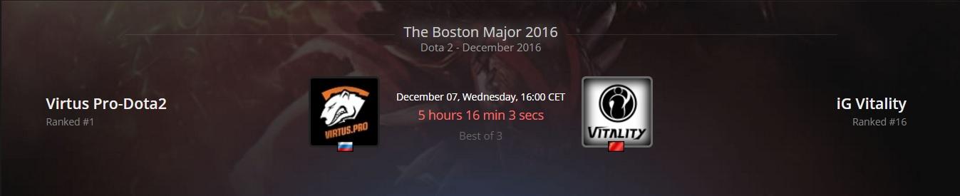 Dota2 - Dự đoán kết quả lượt trận đầu main event Boston Major