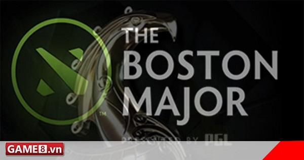Dota2 - Main event Boston Major ''sạch bóng người Trung Quốc''