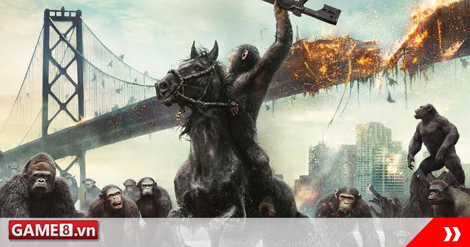 Khỉ và người đại chiến trong trailer của War for the Planet of the Apes