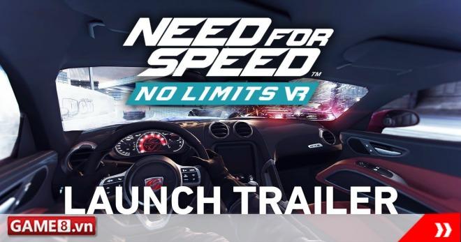 Need for Speed No Limits chính thức có bản VR, hỗ trợ kính Google Daydream VR