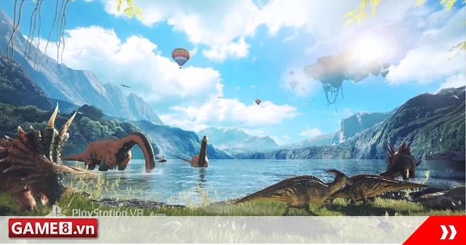 ARK Park - Game du hành thời tiền sử sẽ được mở cửa thử nghiệm vào đầu năm 2017