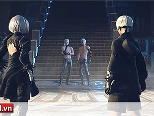 NieR: Automata hé lộ trailer phô diễn gameplay lôi cuốn cùng với món vũ khí mới