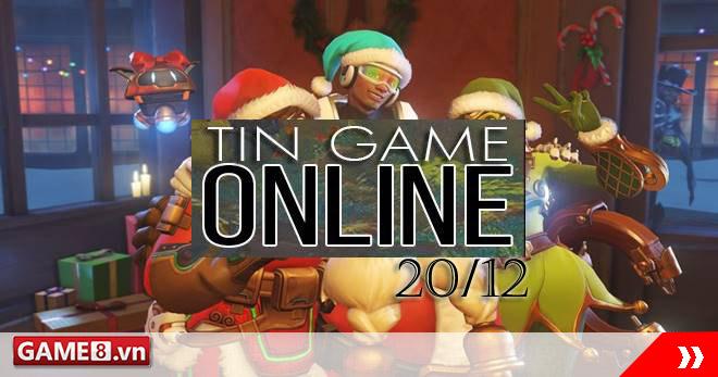 Điểm tin Game Online ngày 20/12: Overwatch giảm giá khủng cho tất cả sản phẩm nhân dịp lễ Giáng Sinh 2016