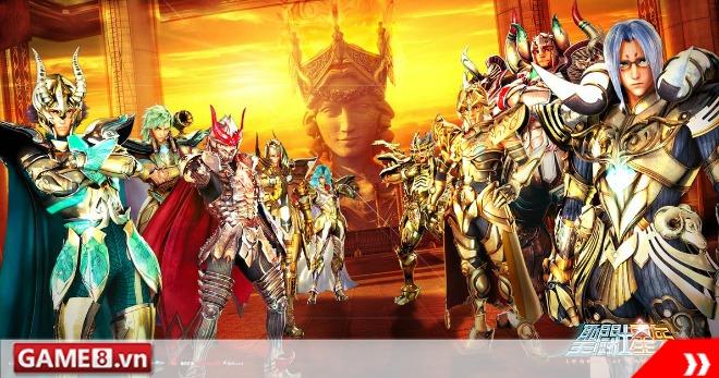 Bạn là người yêu thích anime vậy không thể bỏ Game Mobile 'Saint seiya 3D'