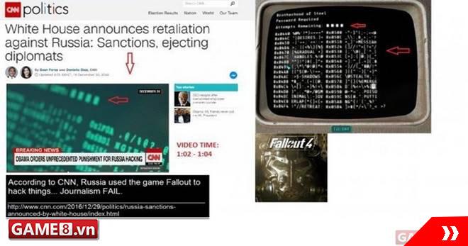 CNN bất ngờ sử dụng hình ảnh trong Fallout để đưa tin về sự kiện đang hot